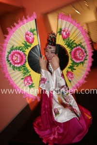 Korean Dancer Fan