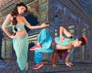 break dance aladdin